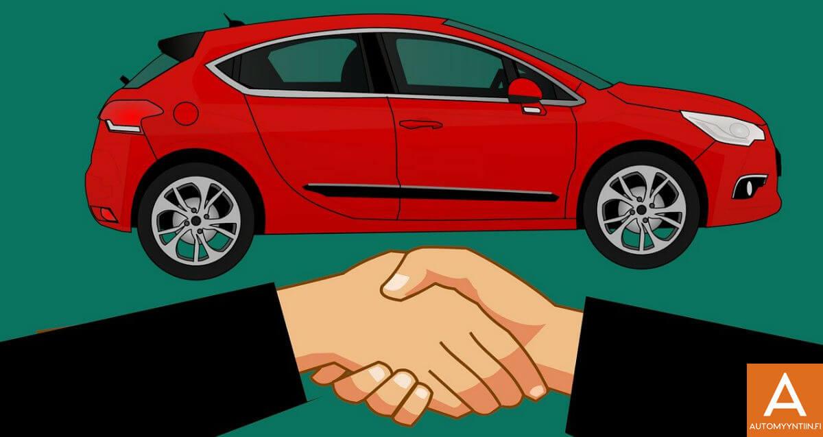 Automyyntiin ostaa autoja suoralla kaupalla netissä